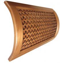 Декоративная деревянная рейка для стен
